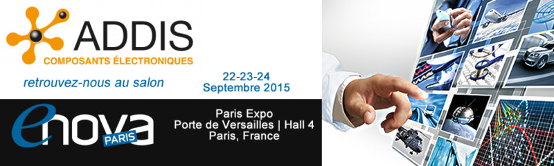 Addis Lighting au Salon ENOVA Paris 2015