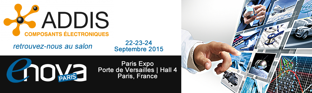 Addis Lighting au Salon ENOVA Paris 2015