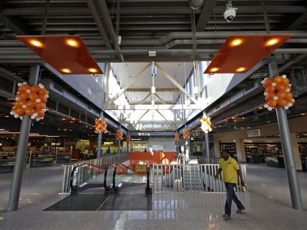 Eclairage LED d'un centre commercial