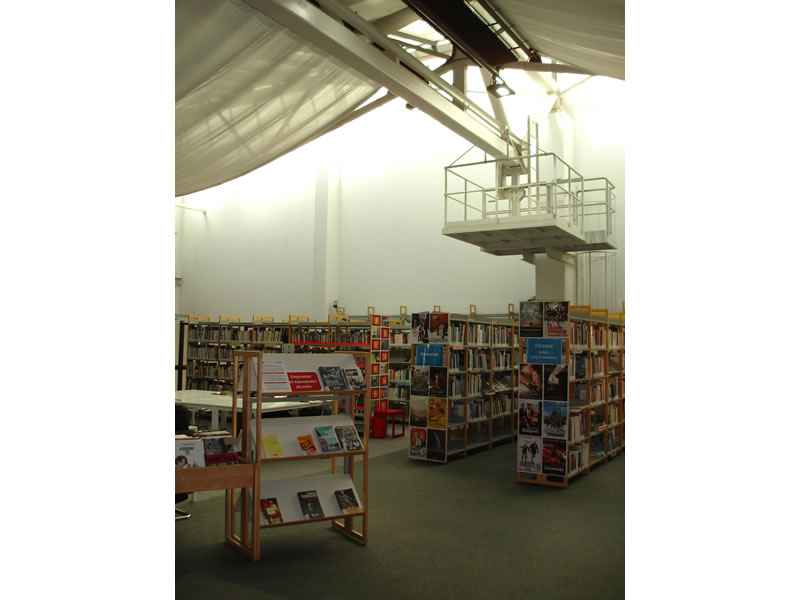 Eclairage Led D Une Bibliotheque De Musee Addis Lighting