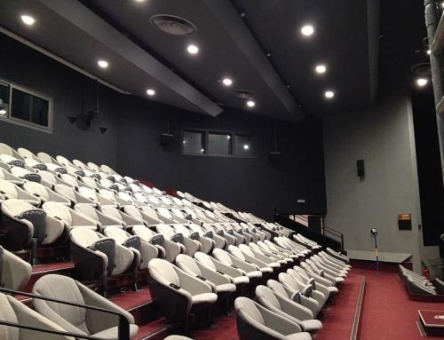 Eclairage LED d'une salle de conférence