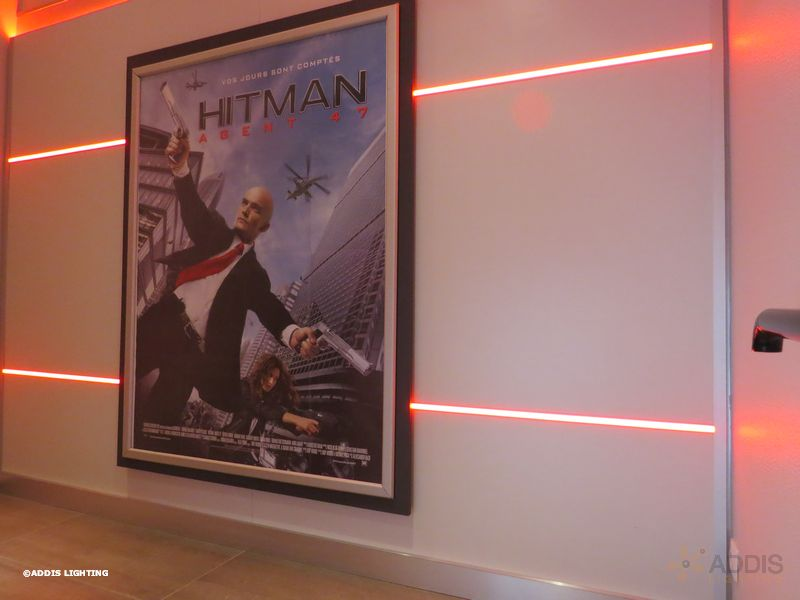 Gamme Aura Spinele Eclairage Led D Un Cinema Addis Lighting