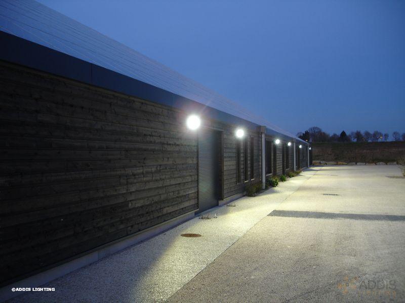 eclairage led d 39 un site multi entreprises addis lighting. Black Bedroom Furniture Sets. Home Design Ideas