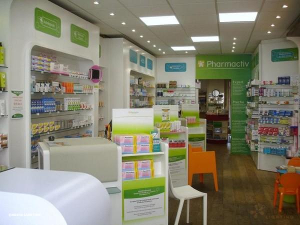 Gamme LAZULI ONYX Eclairage LED d'une pharmacie