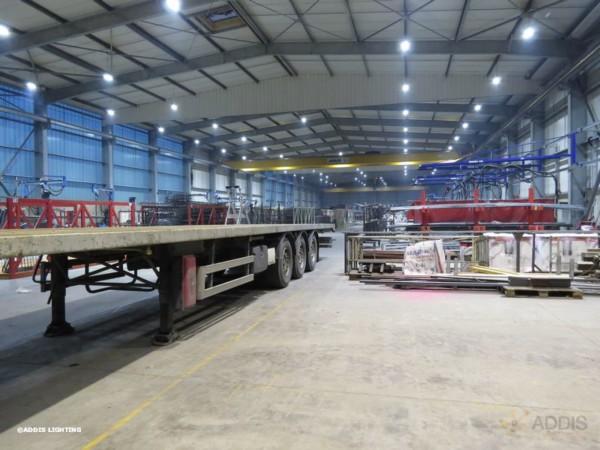 Eclairage led d'un site industriel avec la Gamme AZURITE