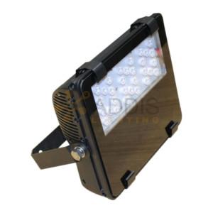 Projecteur led AZURITE Compact 50W Vue de face
