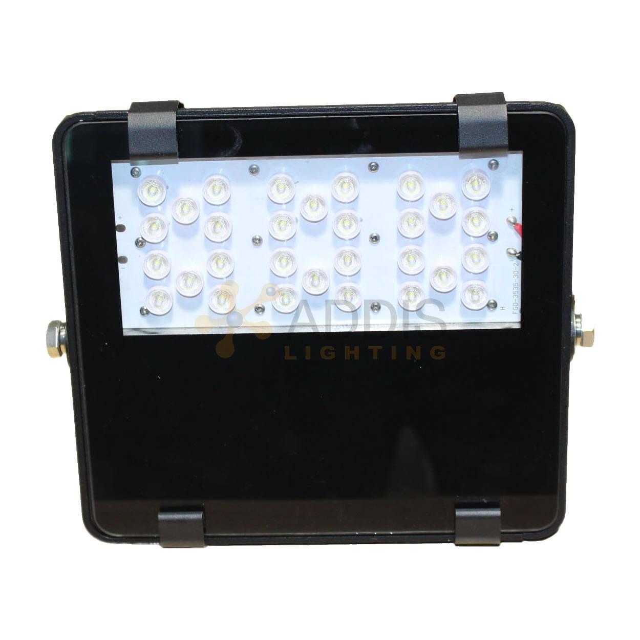 Projecteur led AZURITE Compact 60W Vue de face