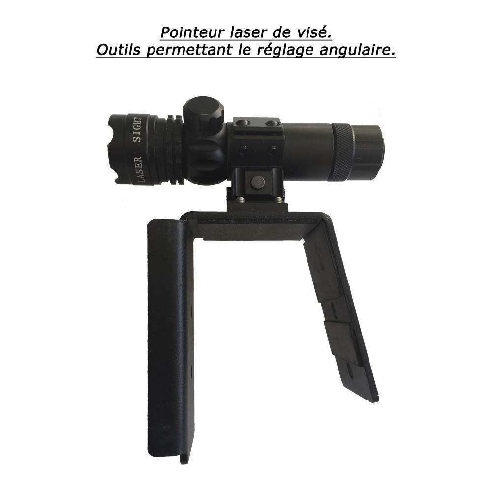 AZURITE Pointeur laser de visé