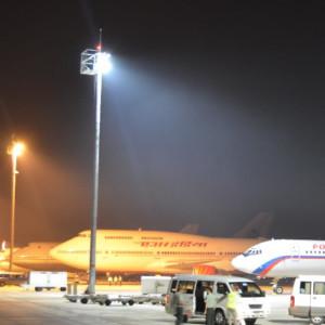 Projecteur led AZURITE 400W Utilisation sur un aeroport