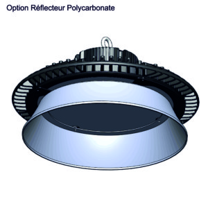 Armature Industrielle LED QUARTZ Compact 150W Option réflecteur