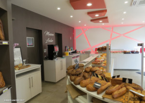 Downlight SHIVA avec led Food pour une patisserie