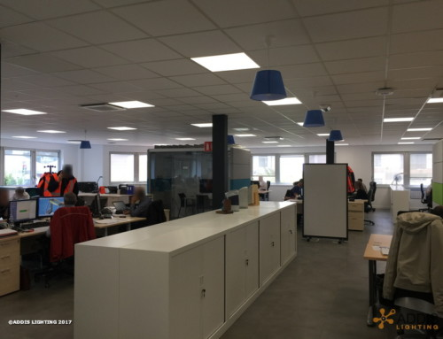 Eclairage Led d'un Open Space avec les dalles led LAZULI