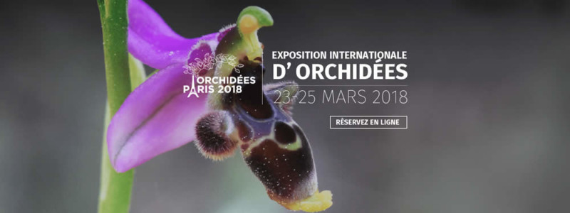 Salon Orchidées Paris 2018