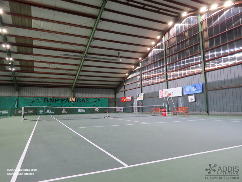 AZURITE Courts de Tennis couverts