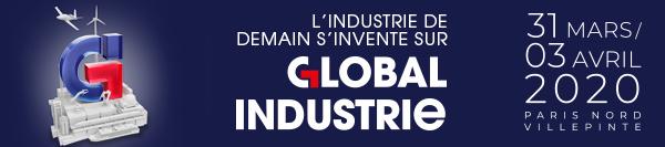 Bannière Salon Global Industrie